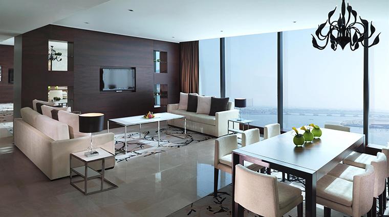 Property FairmontBabAlBahr Hotel GuestroomSuite FairmontGoldSignatureSuiteLivingRoom FRHI