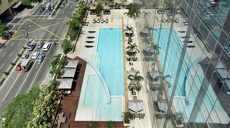 Property FairmontMakati Hotel PublicSpaces SwimmingPool FRHI