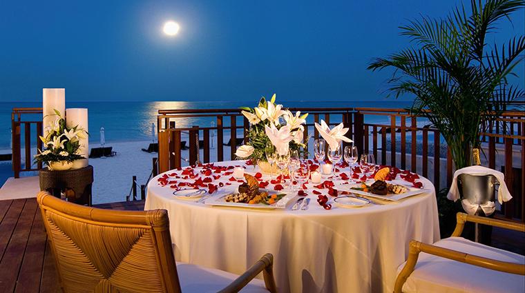 Property FairmontMayakobaRiveriaMaya Hotel Dining RomanticDinner FRHI
