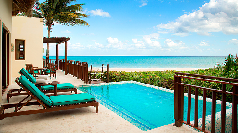 Property FairmontMayakobaRiveriaMaya Hotel GuestroomSuite ElCamaleonPresidentialSuitePool&Terrace FRHI