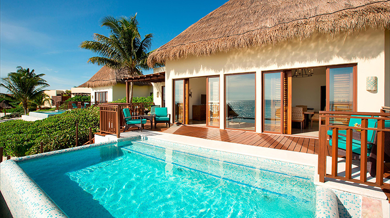 Property FairmontMayakobaRiveriaMaya Hotel GuestroomSuite OceanfrontPremiumSuitePool&Terrace FRHI