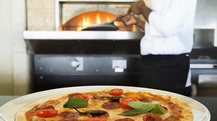 Property FairmontRoyalPavilion Hotel Dining TaborasRestaurantWoodstoneFirePizza FRHI