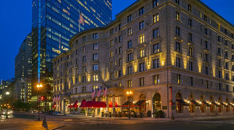 Property FairmountCopleyPlaza Hotel Exterior NighttimeExterior FairmontRafflesHotelsInternationalInc