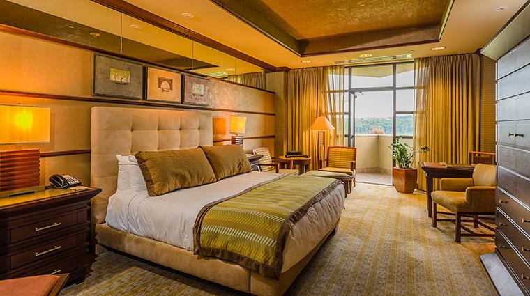 Property FallingRockatNemacolinWoodlandsResort Hotel GuestroomSuite BalconyKing NemacolinWoodlandsResort