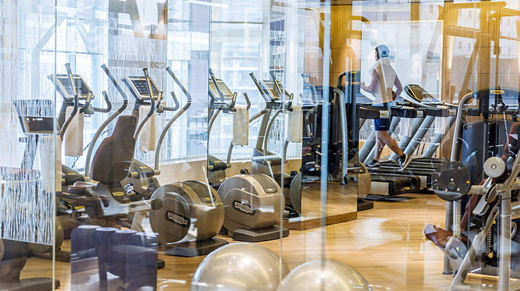 Property FourSeasonsHotelBeijing 13 Hotel PublicSpaces Gym CreditFourSeasons