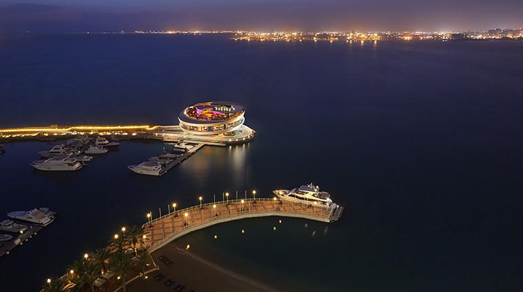 Property FourSeasonsHotelDoha Hotel Exterior ViewofMarina&Nobu FourSeasonsHotelsLimited