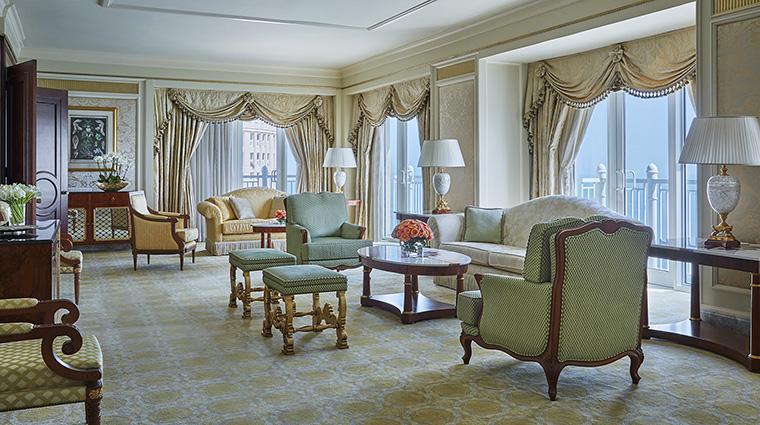 Property FourSeasonsHotelDoha Hotel GuestroomSuite StateSuite FourSeasonsHotelsLimited