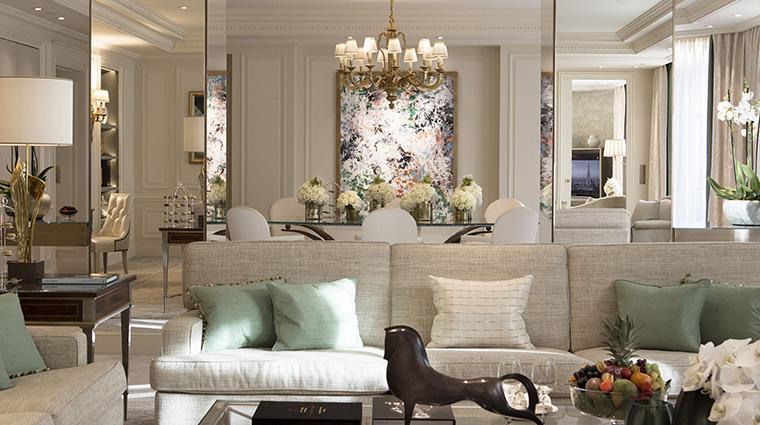 Property FourSeasonsHotelGeorgeVParis Hotel GuestroomSuite Suite124LivingRoom FourSeasonsHotelsLimited