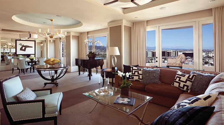 Property FourSeasonsHotelLosAngelesatBeverlyHills Hotel GuestroomSuite PresidentialSuiteEastLivingRoom FourSeasonsHotelsLimited
