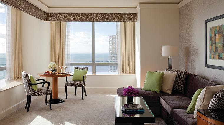 Property FourSeasonsHotelMiami Hotel GuestroomSuite OneBedroomSuiteBayView FourSeasonsHotelsLimited
