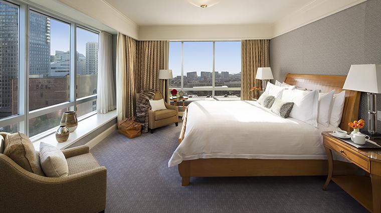 Property FourSeasonsHotelSanFrancisco Hotel GuestroomSuite PremierOneBedroomSuiteBedroom FourSeasonsHotelsLimited