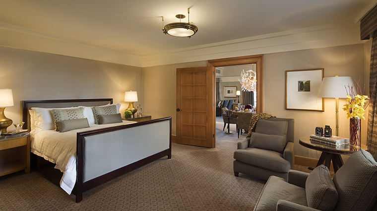 Property FourSeasonsHotelSanFrancisco Hotel GuestroomSuite SpecialityOneBedroomSuiteBedroom FourSeasonsHotelsLimited