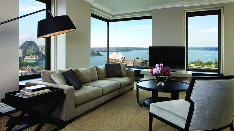 Property FourSeasonsHotelSydney Hotel GuestroomSuite PresidentialSuiteLivingArea FourSeasonsHotelsLimited
