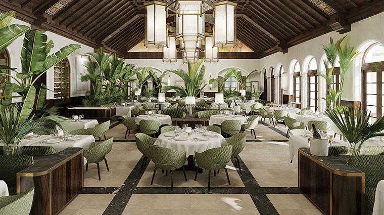 Property FourSeasonsHotels&PrivateResidencesTheSurfClub Hotel Dining DiningRoom FourSeasonsHotelsLimited