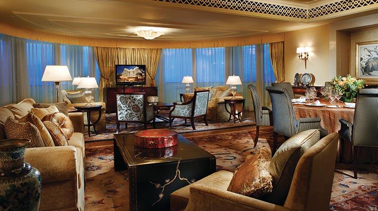 Property FourSeasonsMacau Hotel GuestroomSuites PresidentialSuiteLiving CreditFourSeasons