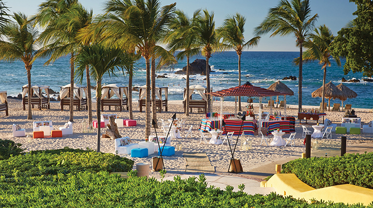 Property FourSeasonsPuntaMita Hotel PublicSpaces MexicanPartyatManzanillasBeach FourSeasonsHotelsLimited