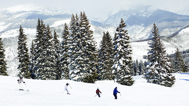 Property FourSeasonsResort&ResidencesVail Hotel Activity Skiing FourSeasonsHotelsLimited