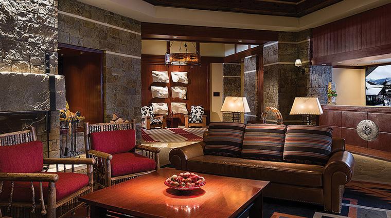 Property FourSeasonsResortJacksonHole Hotel PublicSpaces Lobby FourSeasonsHotelsLimited