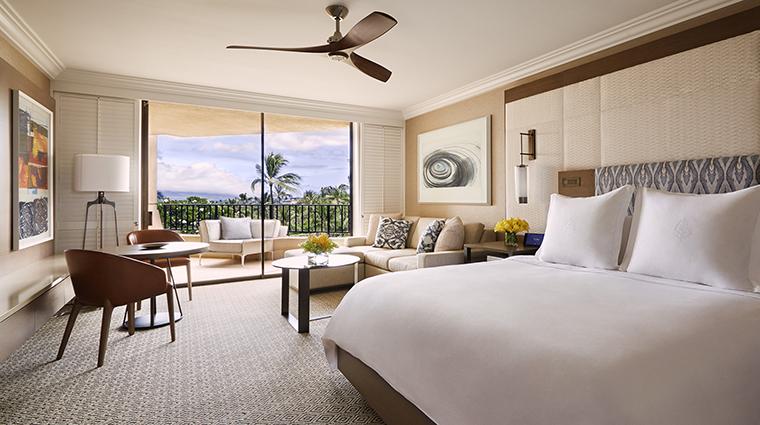 Property FourSeasonsResortMauiatWailea Hotel GuestroomSuite ClubOceanViewPrimeRoom FourSeasonsHotelsLimited