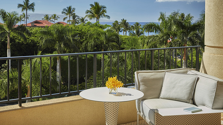 Property FourSeasonsResortMauiatWailea Hotel GuestroomSuite GuestroomTerrace FourSeasonsHotelsLimited