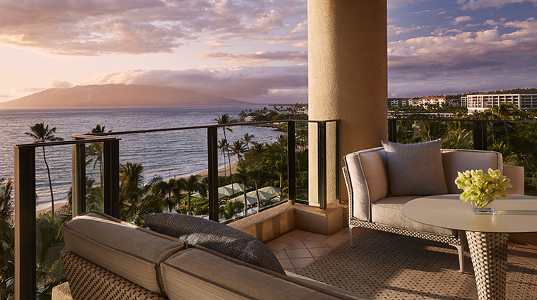 Property FourSeasonsResortMauiatWailea Hotel GuestroomSuite OceanFrontPrimeSuiteTerrace FourSeasonsHotelsLimited