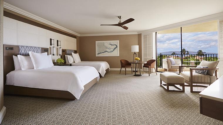 Property FourSeasonsResortMauiatWailea Hotel GuestroomSuite OceanViewRoom FourSeasonsHotelsLimited