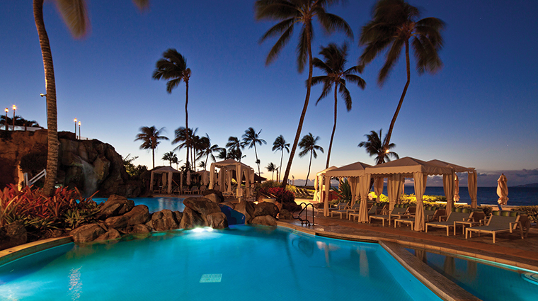 Property FourSeasonsResortMauiatWailea Hotel PublicSpaces Pool CreditFourSeasons