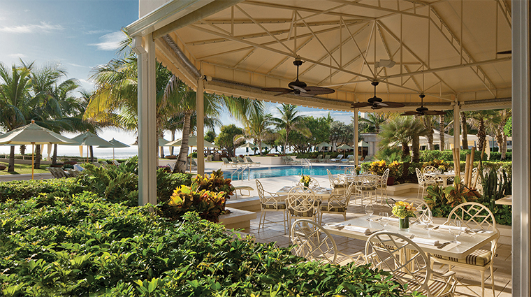 Property FourSeasonsResortPalmBeach 10 Hotel Restaurant Graze PoolsideDining CreditFourSeaons