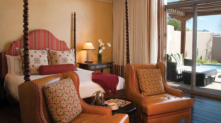 Property FourSeasonsResortScottsdaleatTroonNorth 5 Hotel GuestroomSuite PrescottSuite Bedroom CreditFourSeasons