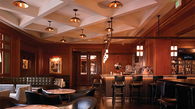 Property FourSeasonsSanFrancisco Restaurant BarLounge Overallroom FourSeasonsHotel