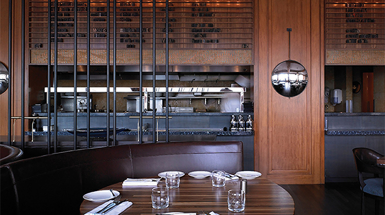 Property FourSeasonsSanFrancisco Restaurant BarLounge SideTableView FourSeasonsHotel