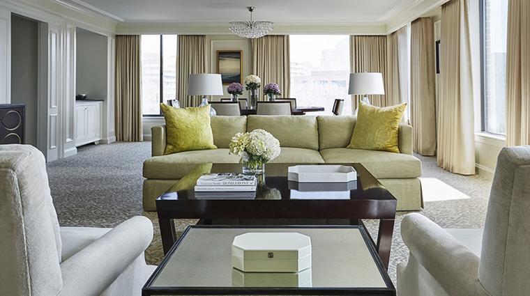 Property FourSeasonsWashingtonDC Hotel GuestroomSuite PresidentialSuiteEastWingLivingRoom FourSeasonsHotelsLimited