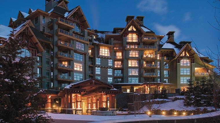 Property FourSeasonsWhistler Hotel Exterior 3 CreditFourSeasons