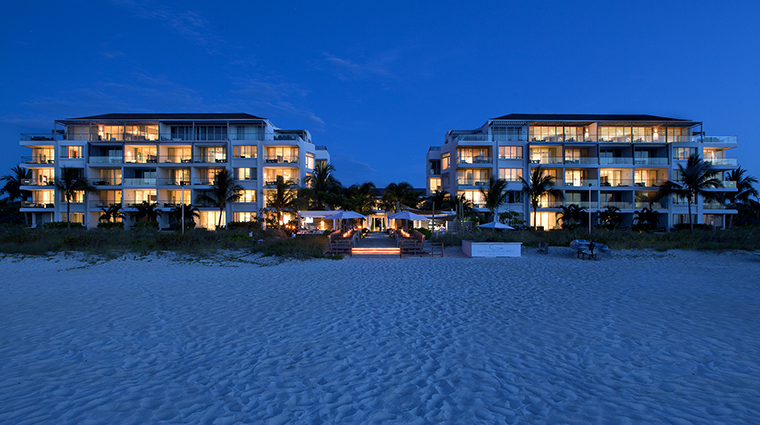 Property GansevoortTurks&Caicos Hotel Exterior ExteriorViewfromBeachNight GansevoortHotelGroup