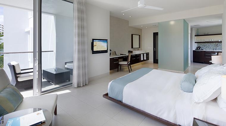 Property GansevoortTurks&Caicos Hotel GuestroomSuites DeluxeOceanfrontStudio GansevoortHotelGroup