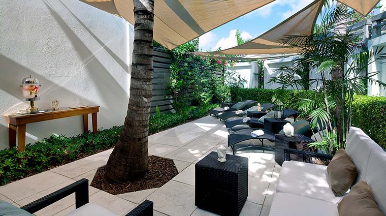 Property GansevoortTurks&Caicos Hotel Spa ExhaleSpaRelaxationArea GansevoortHotelGroup
