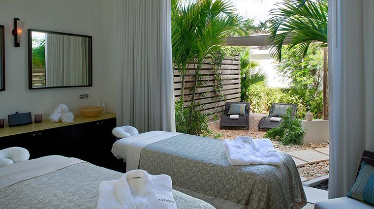 Property GansevoortTurks&Caicos Hotel Spa ExhaleSpaTreatmentRoom GansevoortHotelGroup