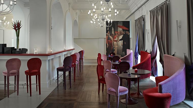 Property GranMeliaRomeVillaAgrippina Hotel BarLounge NectarBar MeliaHotels&Resorts