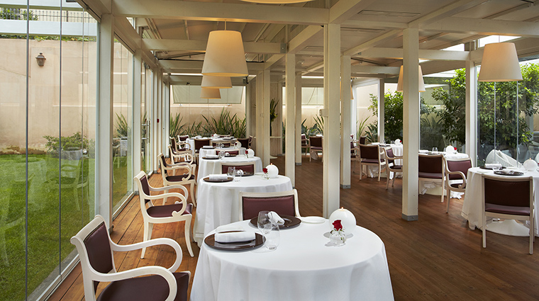 Property GranMeliaRomeVillaAgrippina Hotel Dining VivaVoceRestaurantWinterTerrace MeliaHotels&Resorts