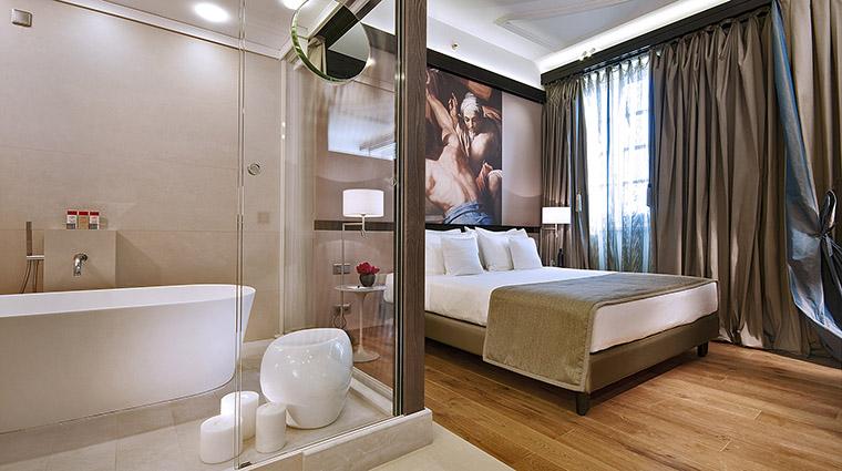 Property GranMeliaRomeVillaAgrippina Hotel GuestroomSuite DeluxeRoom2 MeliaHotels&Resorts