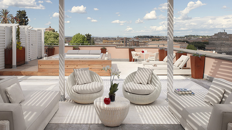 Property GranMeliaRomeVillaAgrippina Hotel GuestroomSuite GrandSuitewithView MeliaHotels&Resorts