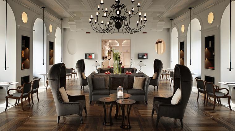 Property GranMeliaRomeVillaAgrippina Hotel PublicSpaces LobbyLibrary MeliaHotels&Resorts