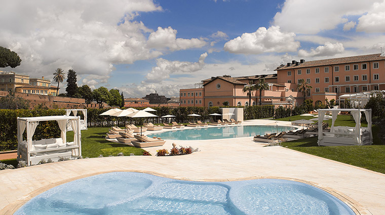 Property GranMeliaRomeVillaAgrippina Hotel PublicSpaces SwimmingPool MeliaHotels&Resorts