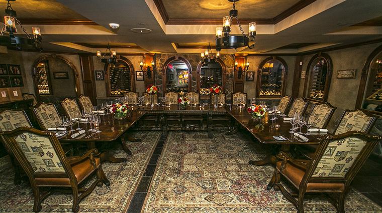 Property GrandCascadesLodge Hotel 6 Restaurant RestaurantLatour TheWineCellarPrivateDiningRoom CreditCrystalSpringsResort