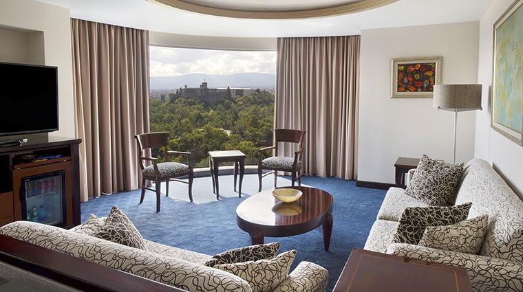 Property GrandFiestaAmericanaChapultepec Hotel GuestroomSuite JuniorSuiteLivingRoom GrupoPosadas