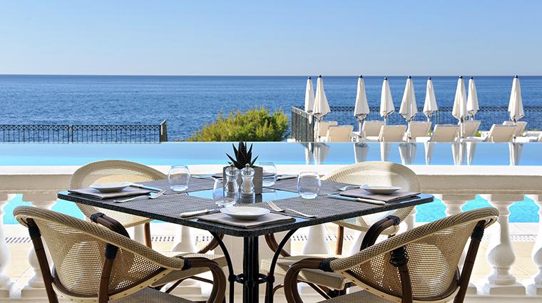 Property GrandHotelCapduFerrat Hotel Dining ClubDauphinSeating FourSeasonsHotelsLimited