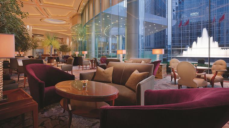 Property GrandHyattBeijing Hotel BarLounge FountainLounge HyattCorporation