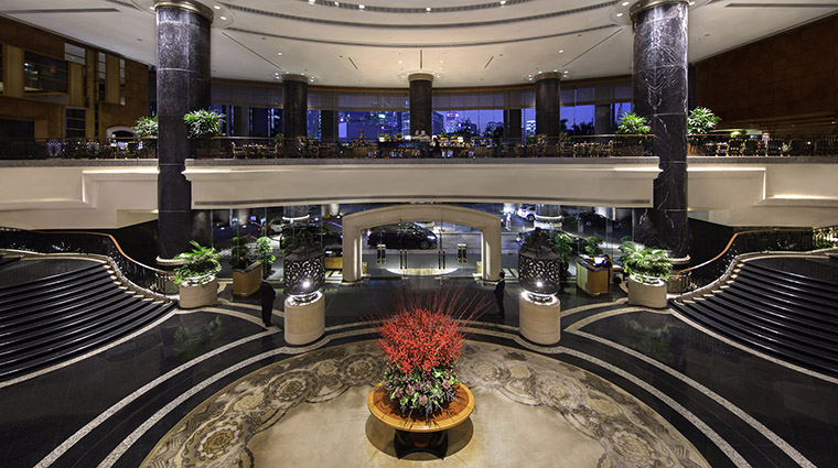 Property GrandHyattHongKong Hotel PublicSpaces Lobby HyattCorporation