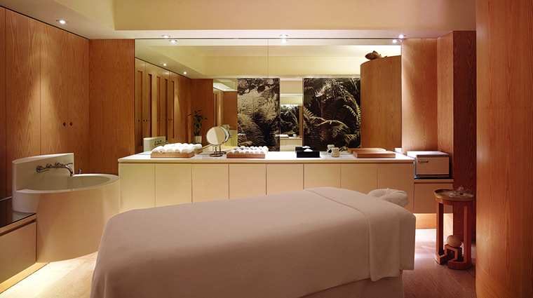 Property GrandHyattHongKong Hotel Spa PlateauSpaTreatmentRoom HyattCorporation
