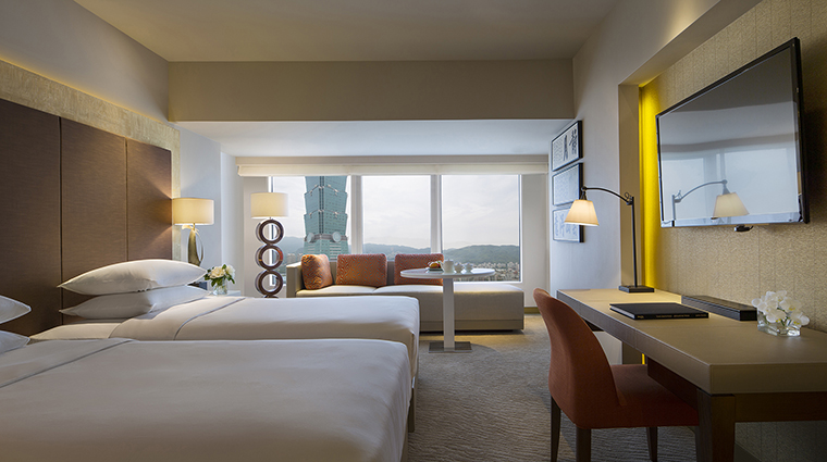 Property GrandHyattTaipei Hotel GuestroomSuite GrandDeluxeRoom HyattCorporation